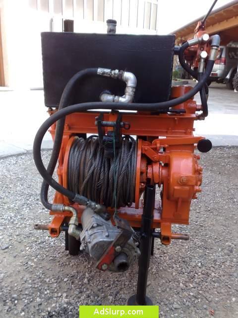 Verricello usato per trattore pompa depressione for Argano usato