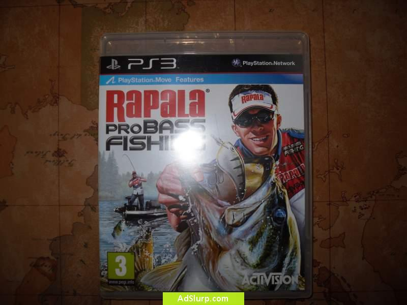 Vendo Gioco play station 3 rapala pro bass fishing: