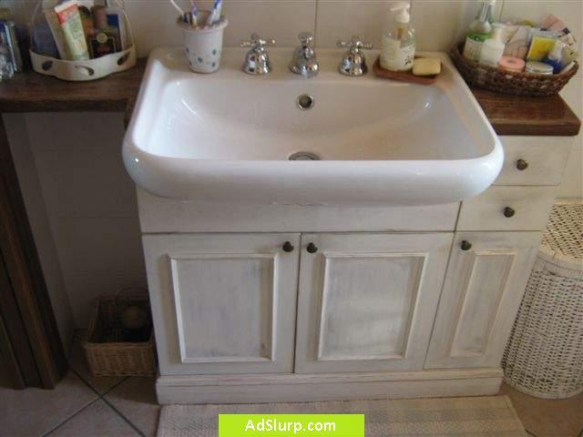 Top mobili da bagno stile provenzale jb52 pineglen - Arredamento bagno stile provenzale ...