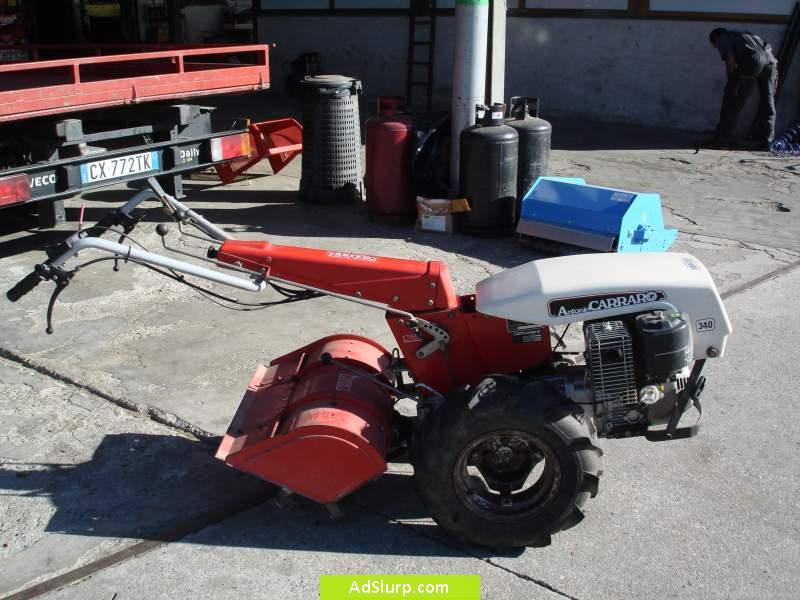 Motocoltivatore carrarino 14 cv mulino elettrico per for Motocoltivatore carraro